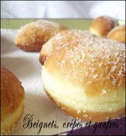 beignets, crêpes et gaufres
