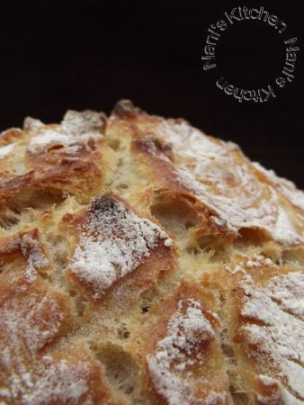 pain semi complet levain cuisson cocotte   (4)