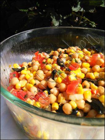 salade pois chiche à la menthe (1)